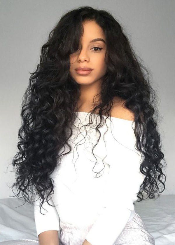 Sexy Wavy Long Layer Synthetic Hair Capless Wave Wigs 26 Inches