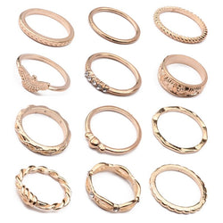 Wedding Party Gift Birthday Alloy E-Plating Technic Ring
