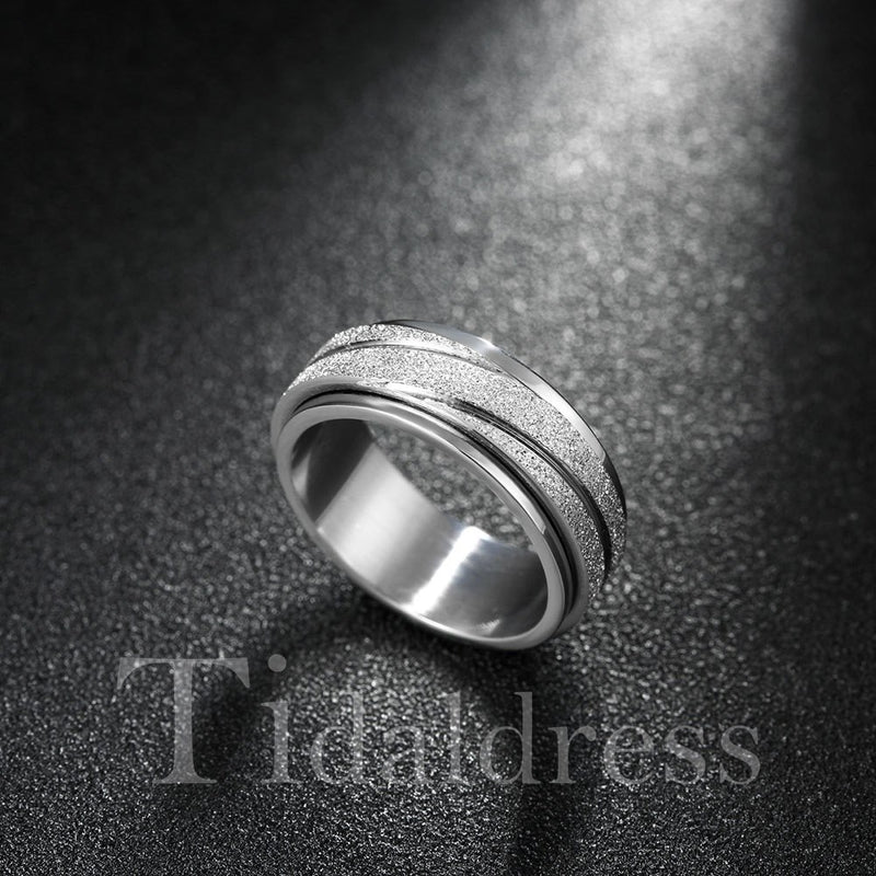 Unisex Korean Style Alloy Plain Ring