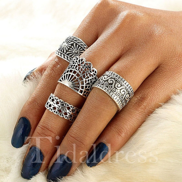Party Birthday Prom Female E-Plating Prom Ring