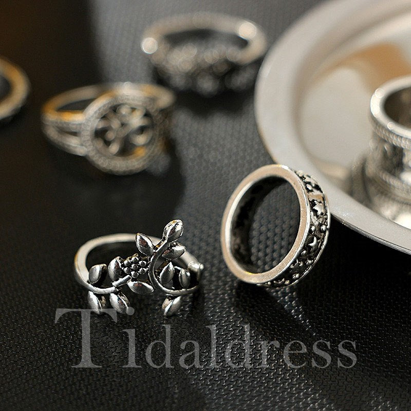 European Style Female Technic Alloy Ring