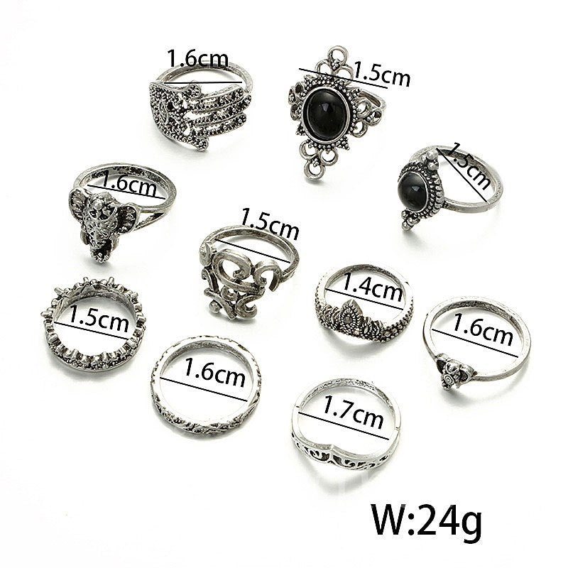 Animal Pattern Female Prom Party Ring