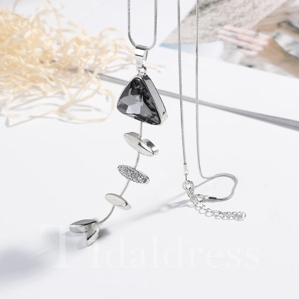 Engagement Alloy Chain Animal Pattern Necklace