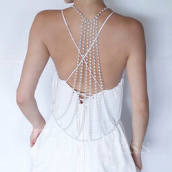 Wedding Holiday Gift Alloy Body Chain Necklace