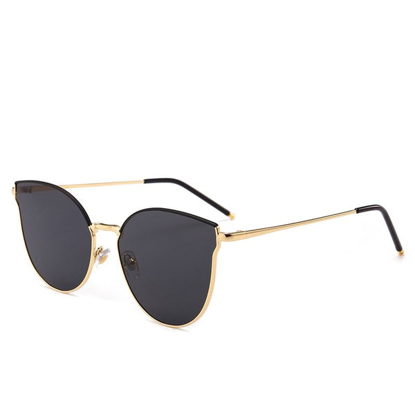 Polarized Anti UV Oval Shape Resin Sunglasses