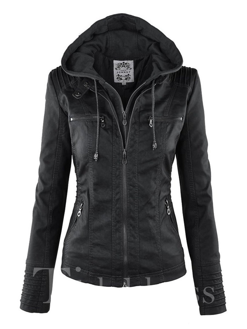 Slim Model Double-Layer Standard Length Jacket