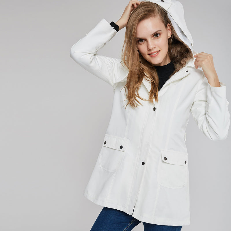 Long Sections Slim Liner Cotton Coat