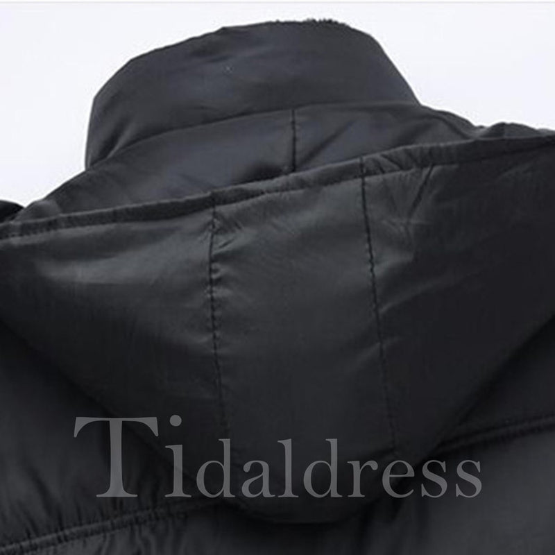 Stand Collar Casual Men's Down Jacket