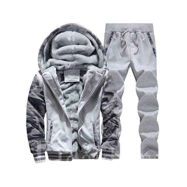 Camouflage Cotton Long Sleeve Men's Outfits