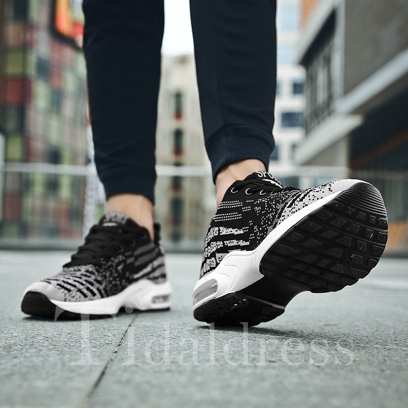 Low-Cut Upper Casual Lace-Up Men's Sneakers