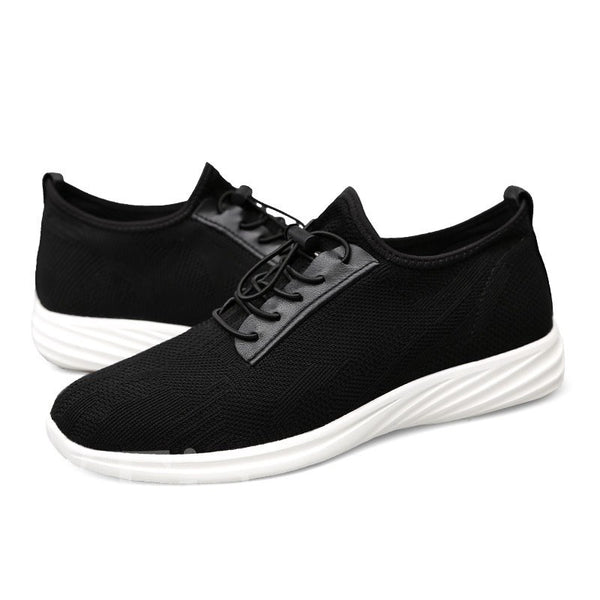 Casual Style Plain Mesh Round Toe Men's Sneakers