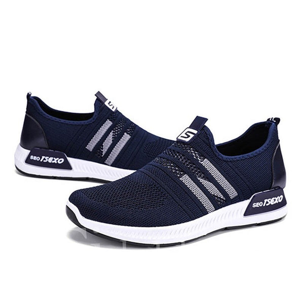 Slip-On Casual Style Mesh Low-Cut Upper Men's Sneakers