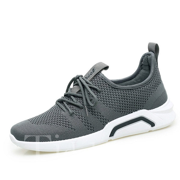 Low-Cut Upper Plain Lace-Up Men's Sneakers
