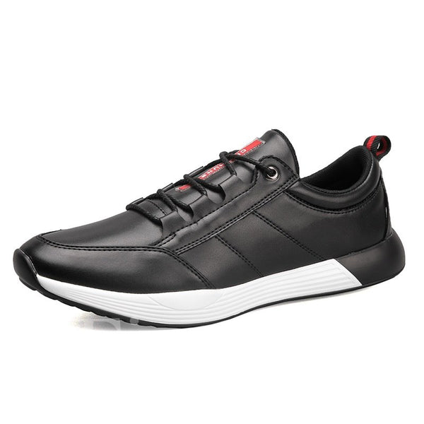 Lace-Up Low-Cut Upper PU Men's Sneakers