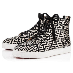 Lace-Up High-Cut Upper Men's Skater Shoes