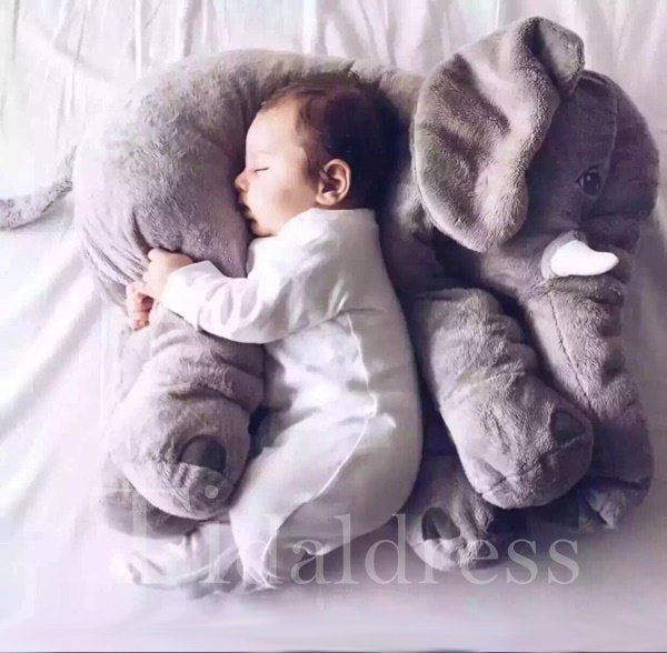 Long Nose Elephant Soft Plush Sleep Baby Pillow