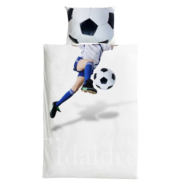 Cotton Football Player Boy Bedding Sets