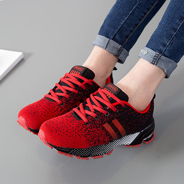 Gradient Lace-Up Men's Sneakers