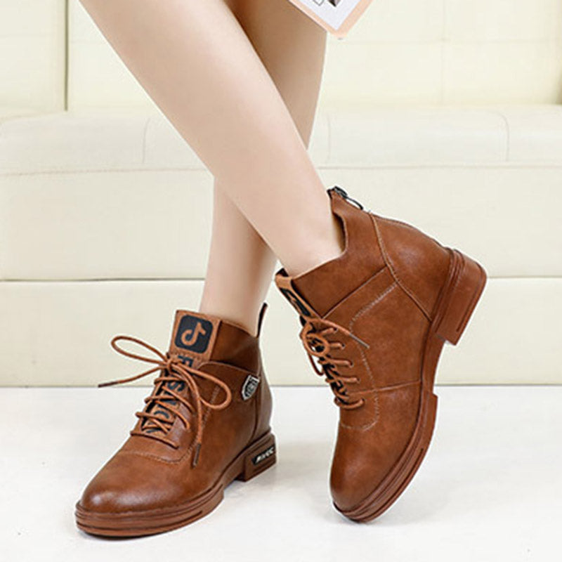 Soft Flat Bottom Women's Short Boots