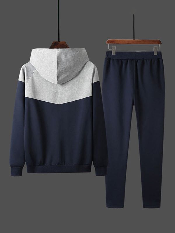 Sports Pants Color Block Spring Outfit