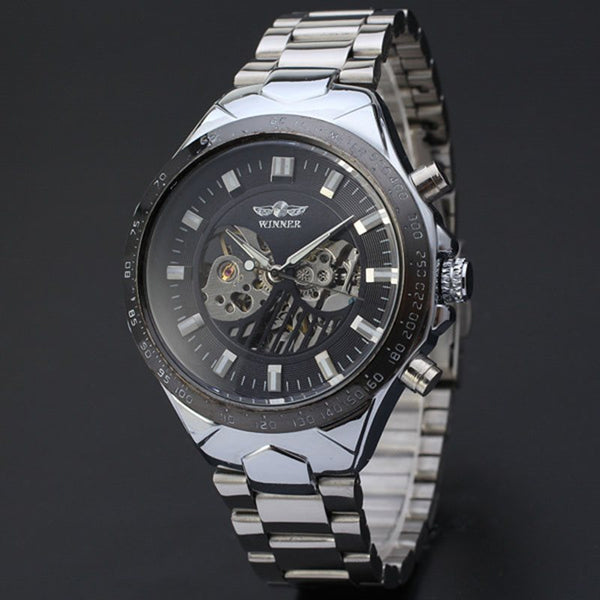 Mechanical Hand Wind Multiple Time Zone Hardlex Watches