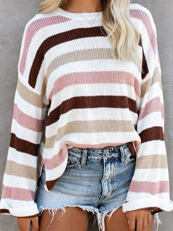 Regular Regular Loose Round Neck Sweater
