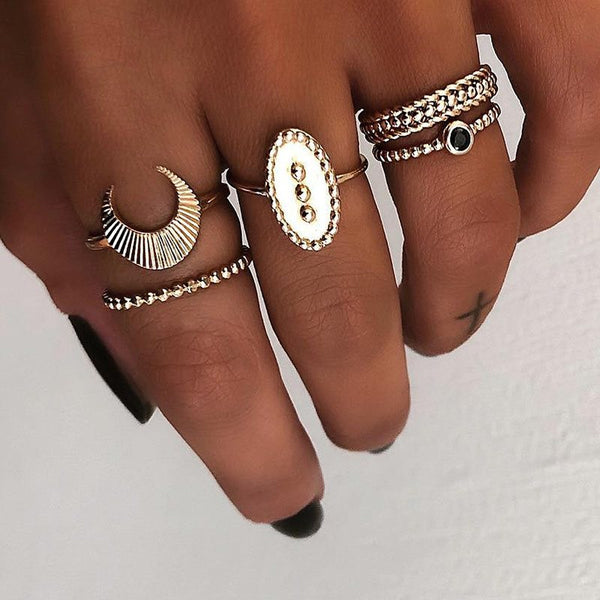 Vintage E-Plating Alloy Gift Rings