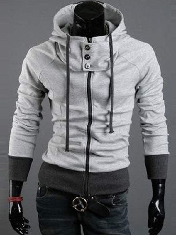 Cardigan Button Zipper Spring Hoodies