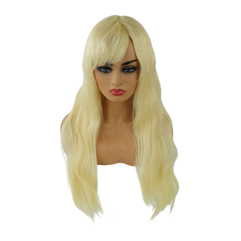 Human Hair Straight Capless 120% Wigs