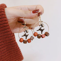Alloy E-Plating Korean Party Earrings