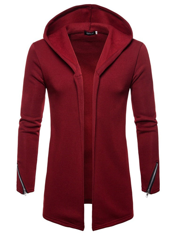 Plain Cardigan Zipper European Winter Hoodies