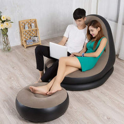 Super Softy Modern Design Inflatable Lazy Sofa Tatami Seat