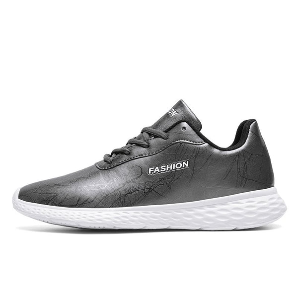 Sports Lace-Up Low-Cut Upper Flat With Round Toe Mesh Sneakers