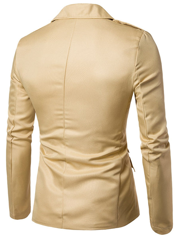 Men's leisure suit zipper