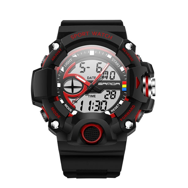 Sport Style Digital Plastic Alarm Watches
