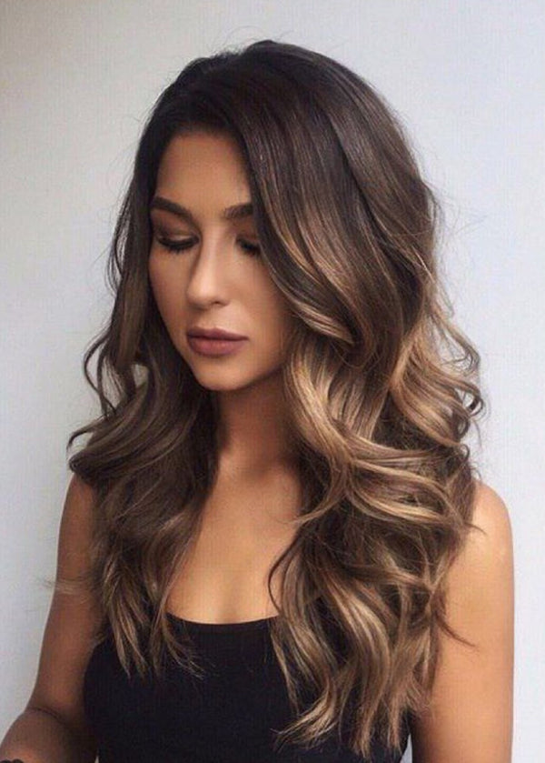 Women Capless Loose Wave Synthetic Hair 26 Inches Wig
