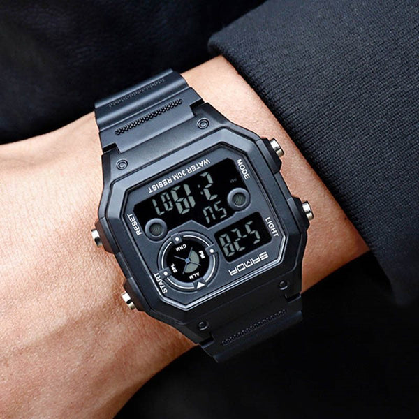 Luminous Square Plastic Watches