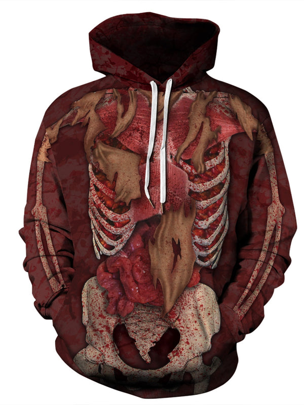Animal Pullover Regular Fall Pullover Hoodies
