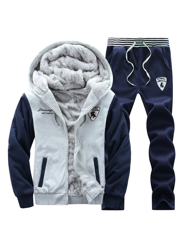 Sports Letter Pants Winter Outfit