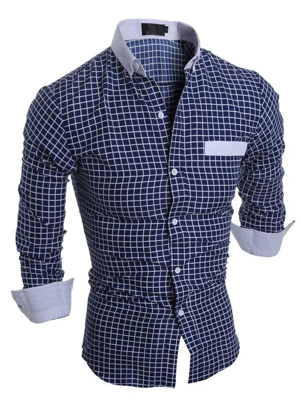 Plaid Casual Lapel Spring Single-Breasted Shirt