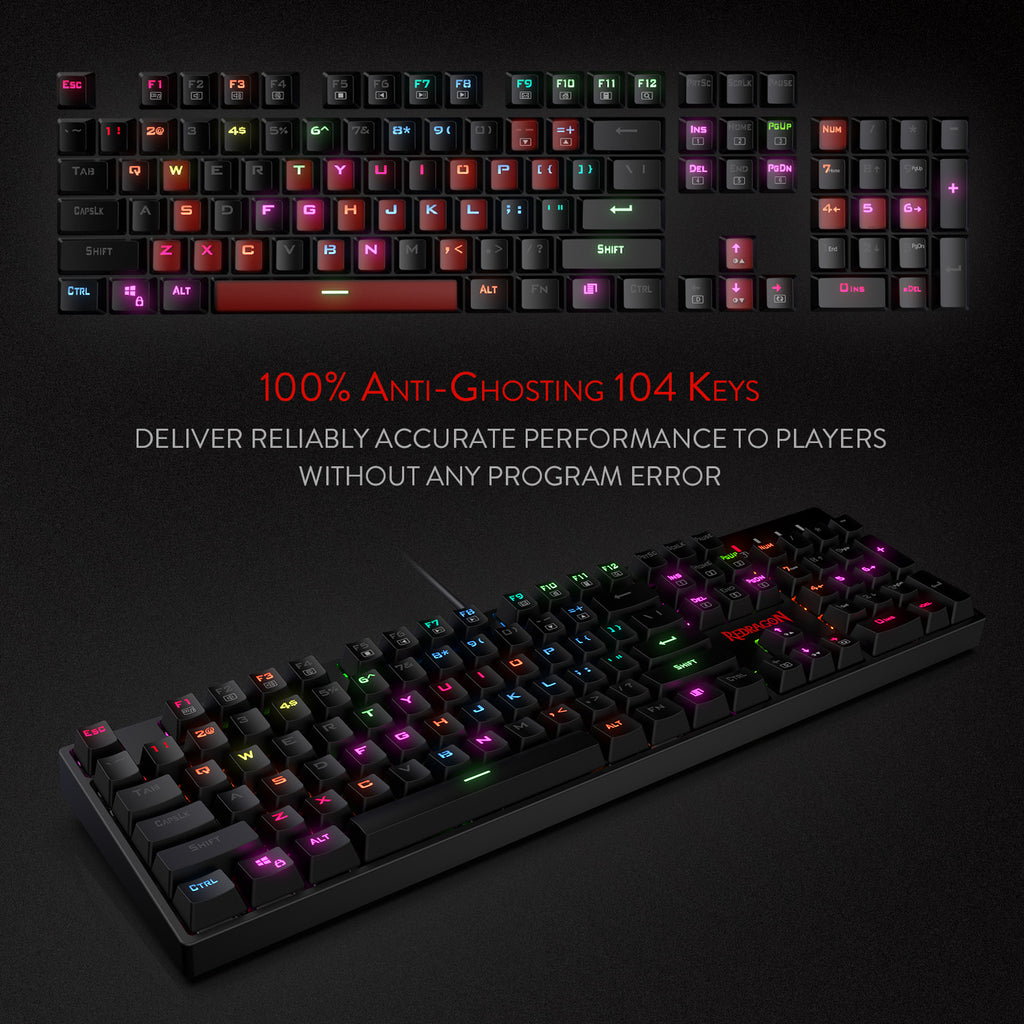 K582-PRO Redragon Gaming Keyboard