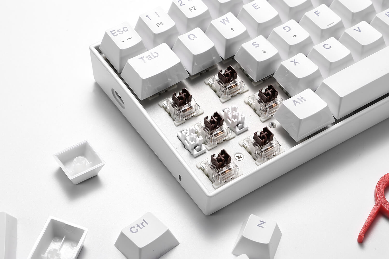 60 keyboard with brown switch