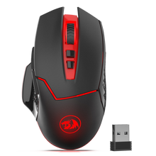 Redragon M690-1 Wireless Gaming Mouse with DPI Shifting, 2 Side Buttons, 2400 DPI, Ergonomic Design, 7 Buttons-Black