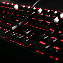 Redragon K582 SURARA Red LED Backlit Mechanical Gaming Keyboard, 104 Standard Keys