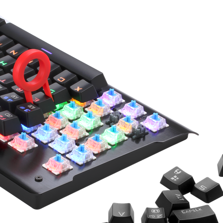 Redragon K561 RGB Mechanical Gaming Keyboard 87 Keys
