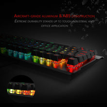 Redragon K561-US VISNU RGB Mechanical Gaming Keyboard 87 Keys Compact Gaming Keyboard, Outemu Blue Switches (QWERTY-Layout)
