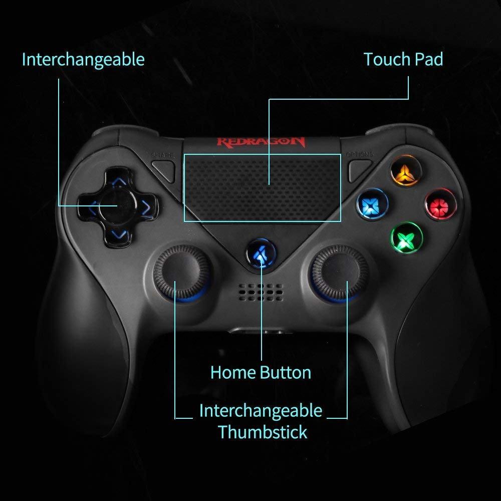 Redragon G809 JUPITER Wireless Gamepad Bluetooth Gaming Controller
