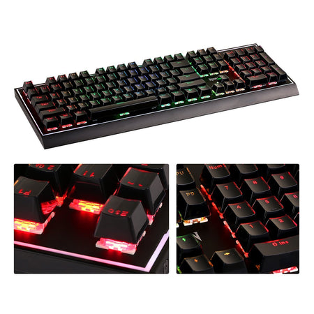 Redragon ABS Double Shot Injection Backlit Keycaps for Mechanical Switch Keyboards with Key Puller (Crystal Black)