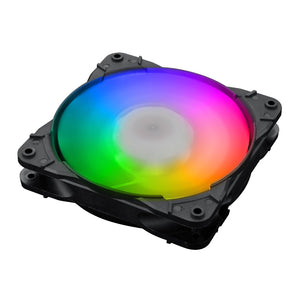 Redragon GC-F007 Computer Case 120mm PC Cooling Fan, RGB LED Quiet High Airflow Adjustable Color LED Fan, CPU Cooler and Radiators (3 Packs)