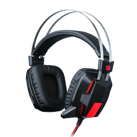 Redragon H101 Gaming Headset Wired Over Ear PC Gaming Headphones with Mic Built